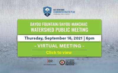 Bayou Fountain Watershed YouTube